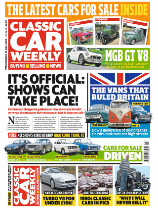 Classic Car Weekly 15th July 2020