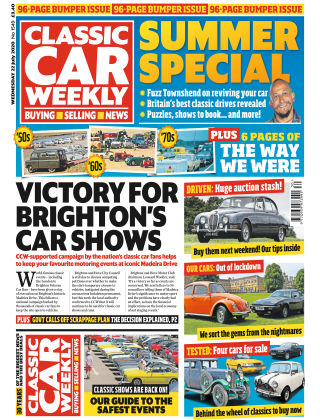 Classic Car Weekly 22nd July 2020