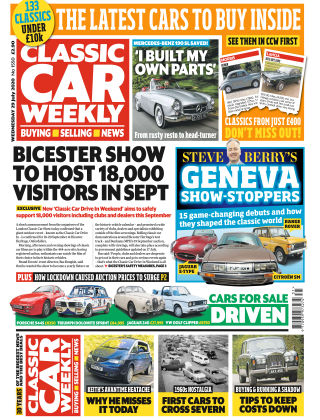 Classic Car Weekly 29th July 2020
