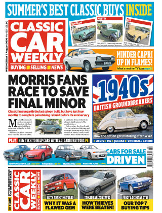 Classic Car Weekly 5th August 2020
