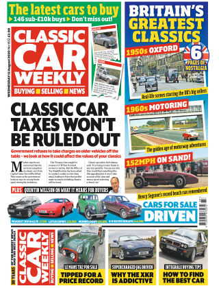 Classic Car Weekly 12th August 2020