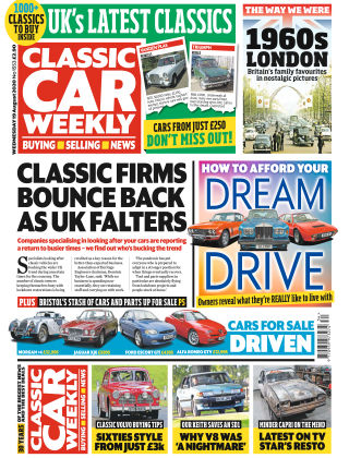 Classic Car Weekly 19th August 2020