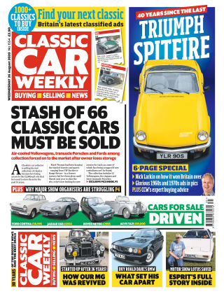 Classic Car Weekly 26th August 2020