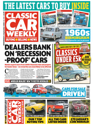Classic Car Weekly 2nd September 2020
