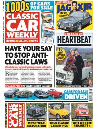 Classic Car Weekly 16th September 2020
