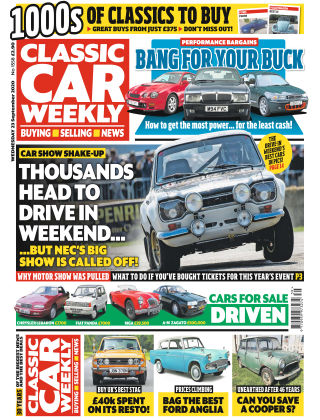 Classic Car Weekly 23rd September 2020