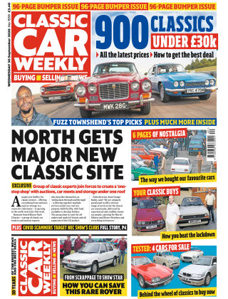 Classic Car Weekly 30th September 2020