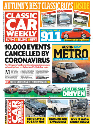 Classic Car Weekly 7th October 2020