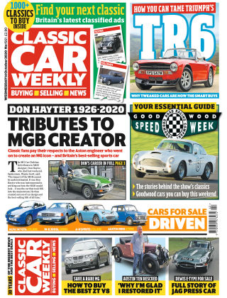 Classic Car Weekly 14th October 2020
