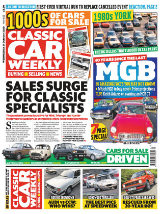 Classic Car Weekly 21st October 2020