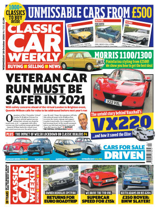 Classic Car Weekly 28th October 2020