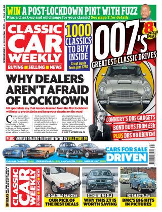 Classic Car Weekly 5th November 2020