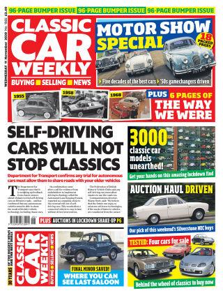 Classic Car Weekly 11th November 2020