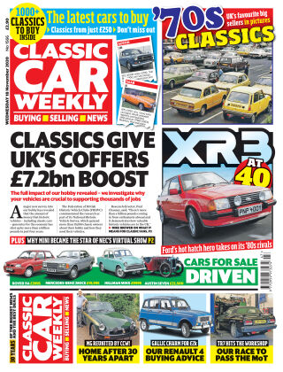Classic Car Weekly 18th November 2020