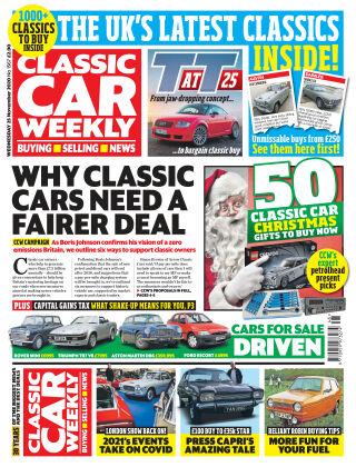 Classic Car Weekly 25th November 2020