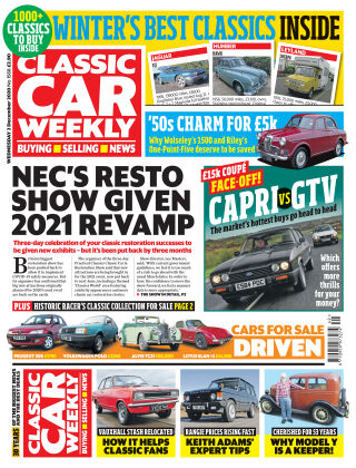 Classic Car Weekly 2nd December 2020