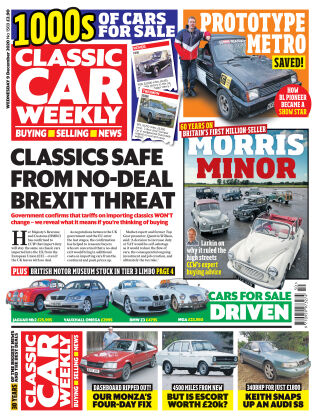 Classic Car Weekly 9th December 2020