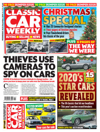 Classic Car Weekly 16th December 2020