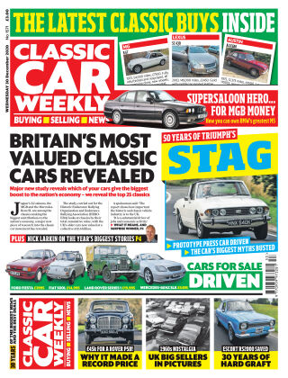 Classic Car Weekly 30th December 2020