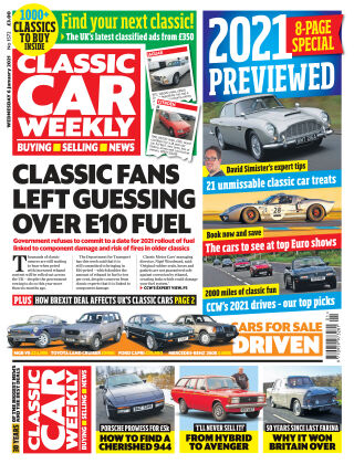 Classic Car Weekly 6th January 2021