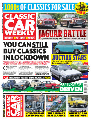 Classic Car Weekly 13th January 2021