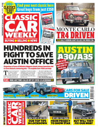 Classic Car Weekly 27th January 2021