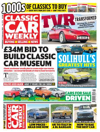 Classic Car Weekly 3rd February 2021