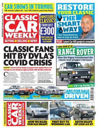 Classic Car Weekly 10th February 2021