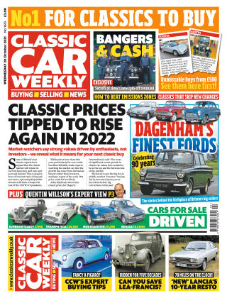 Classic Car Weekly 20-October-21