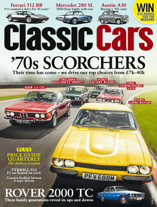 Classic Cars August 2015