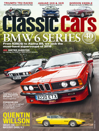Classic Cars March 2016