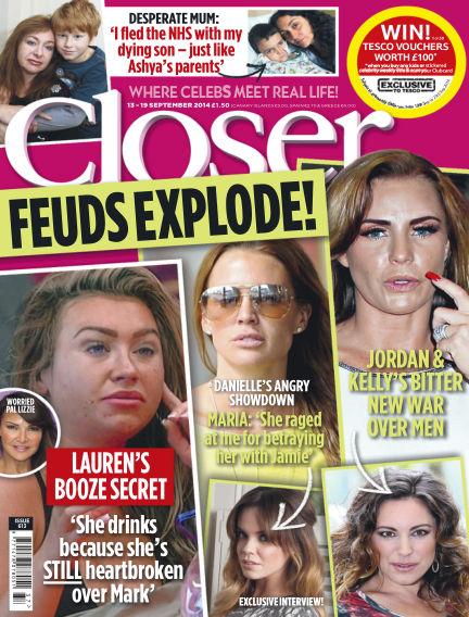 Closer UK September 09, 2014 00:00