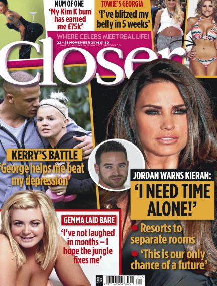 Closer UK November 18, 2014 00:00