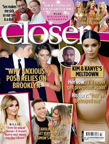 Closer UK November 17, 2015 00:00