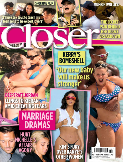Closer UK September 06, 2016 00:00