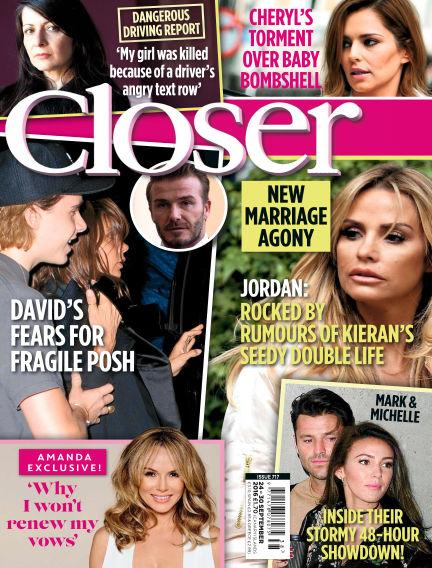 Closer UK September 20, 2016 00:00