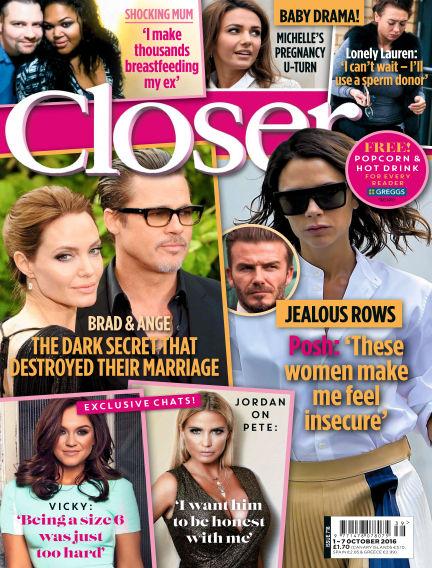 Closer UK September 27, 2016 00:00