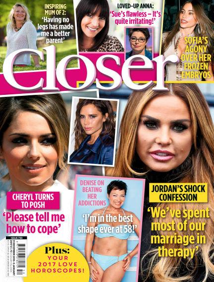 Closer UK December 20, 2016 00:00