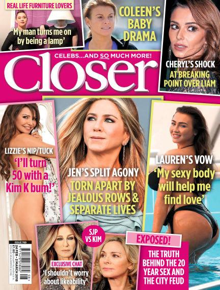Closer UK February 20, 2018 00:00