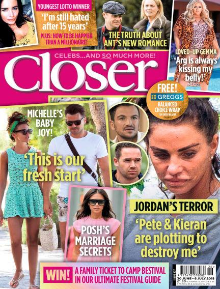 Closer UK June 26, 2018 00:00