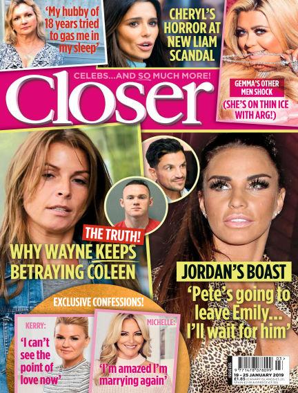 Closer UK January 15, 2019 00:00
