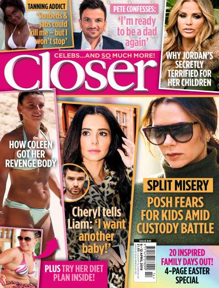 Closer UK April 02, 2019 00:00