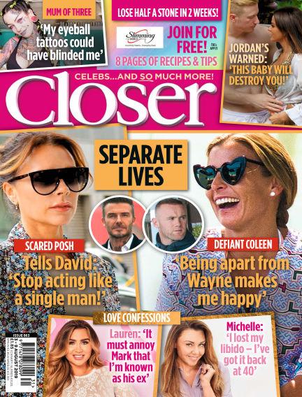 Closer UK July 30, 2019 00:00