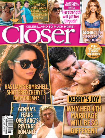 Closer UK September 01, 2020 00:00