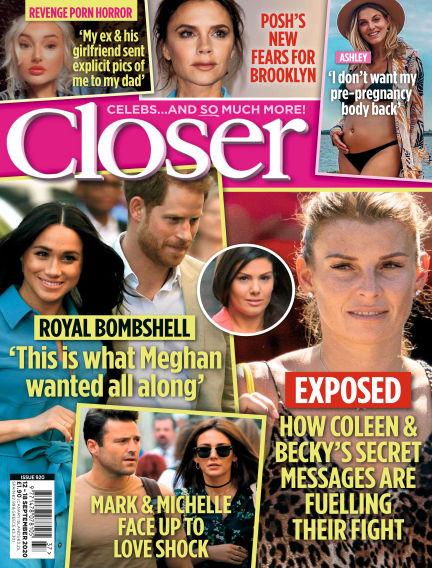 Closer UK September 08, 2020 00:00