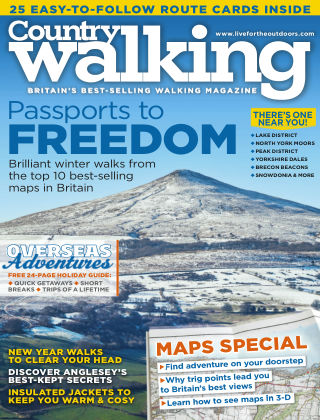 Country Walking January 2015