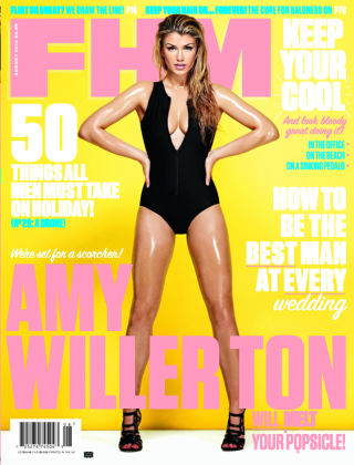 FHM UK August 2014