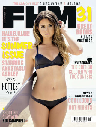 FHM UK August 2015