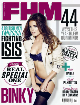 FHM UK January 2016