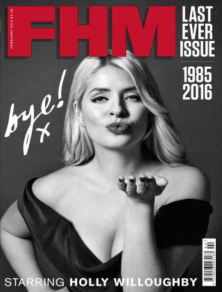 FHM UK February 2016